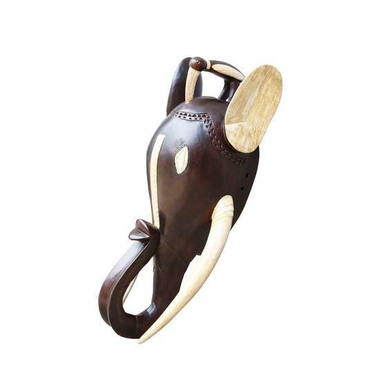 Ghanian dark spotted rhino mask avana africa treniq 1 1510423573859