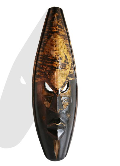 Ghanian dark spotted rhino mask avana africa treniq 1 1510423574700