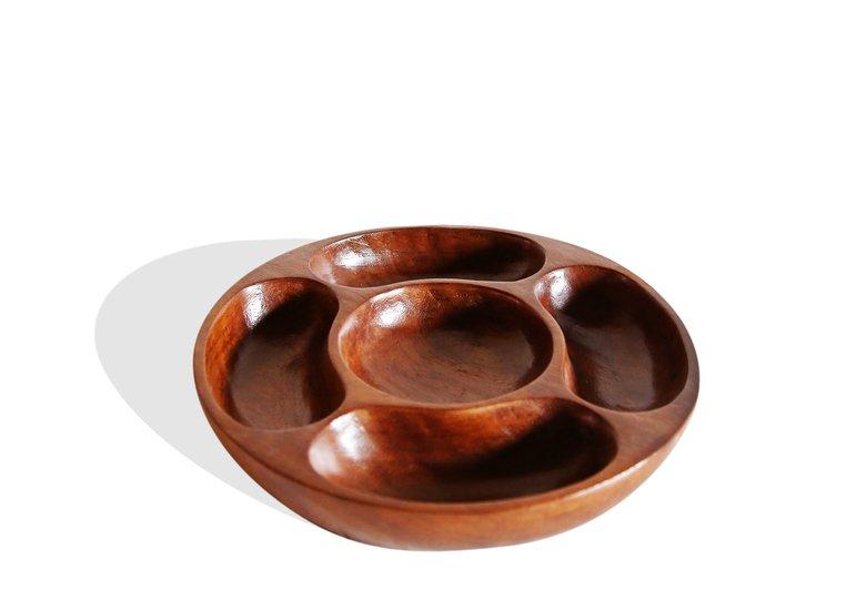 5 sectiined round tray avana africa treniq 1 1510426243487