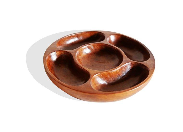 5 sectiined round tray avana africa treniq 1 1510426243481