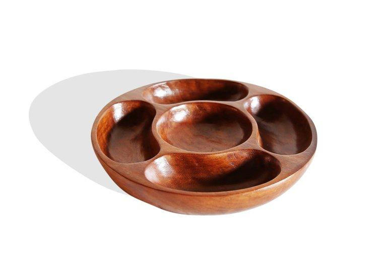 5 sectiined round tray avana africa treniq 1 1510426243485