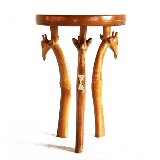 3 legged giraffe head table avana africa treniq 1 1510427055492