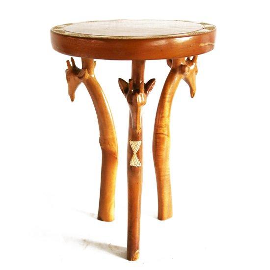 3 legged giraffe head table avana africa treniq 1 1510427055496