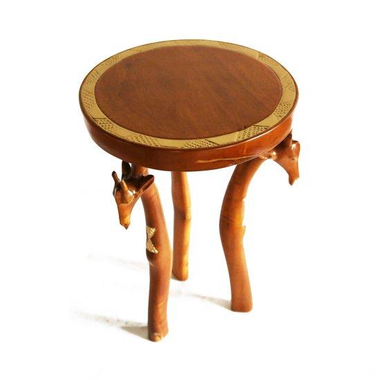 3 legged giraffe head table avana africa treniq 1 1510427055503