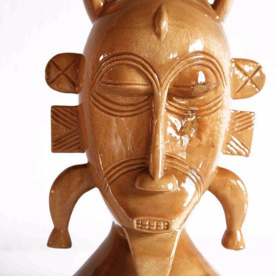 Senoufu mask with raised ears avana africa treniq 1 1510427580838