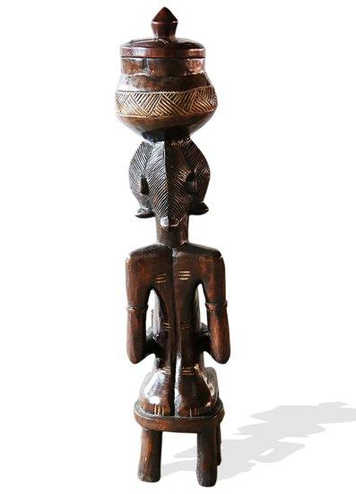 Baule female statuette peau avana africa treniq 1 1510427706350