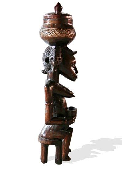 Baule female statuette peau avana africa treniq 1 1510427706347