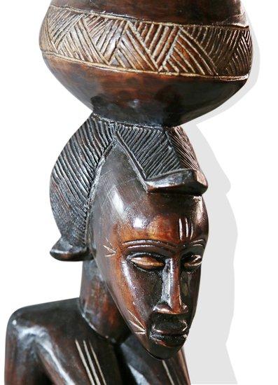 Baule female statuette peau avana africa treniq 1 1510427706353