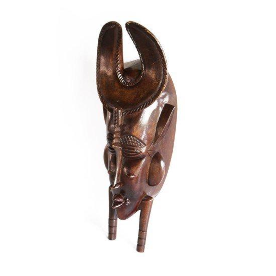 Akan mask with u shaped headgear avana africa treniq 1 1510428984433