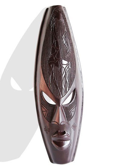 Ghanian dark giraffe mask avana africa treniq 1 1510587756971