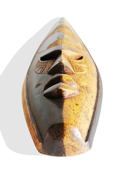 Ghanian double colored elephant mask avana africa treniq 1 1510588090503