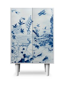 Peony-Play-Cocktail-Cabinet-Painted-Wood-Legs-Satin-White-Finish_Mineheart_Treniq_0