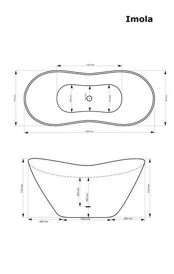 Imola freestanding stone cast bath b%c3%a4dermax treniq 1 1510846185695