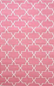 Gura-Pink-And-White-Rug_Ziva-Home_Treniq_0