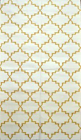 Anokhi-Gold-And-White_Ziva-Home_Treniq_0