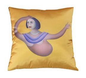 Manjit Bawa Cushion Cover III
