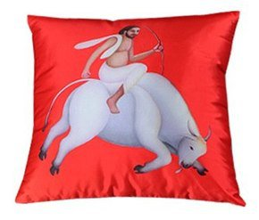Manjit Bawa Cushion Cover IV