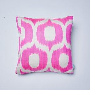 Neon-Pink-Jemima-Ikat-Cushion_Nomad-Design_Treniq_0
