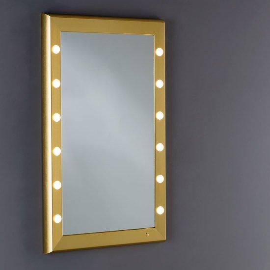 Specchio illuminato sp 301 gold chiara ferrari treniq 6 1513001675224