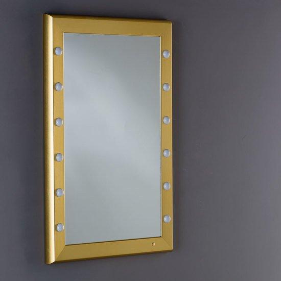 Specchio illuminato sp 301 gold chiara ferrari treniq 6 1513001675225