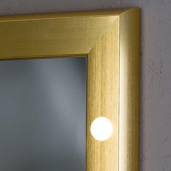 Specchio illuminato sp 301 gold chiara ferrari treniq 6 1513001675226