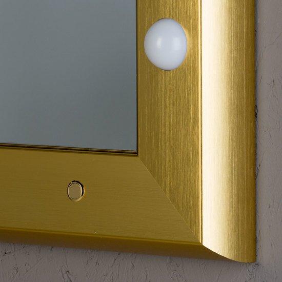 Specchio illuminato sp 301 gold chiara ferrari treniq 6 1513001675227