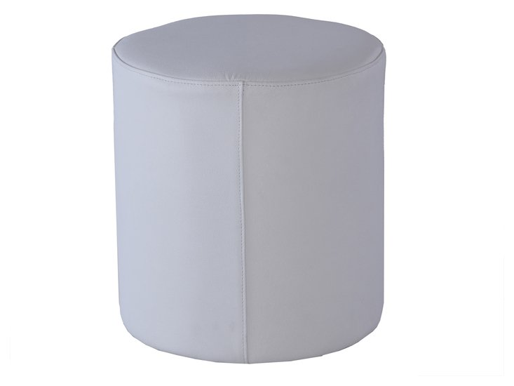 Enzo leather white cylinder stool gillmorespace limited treniq 1 1513079786008