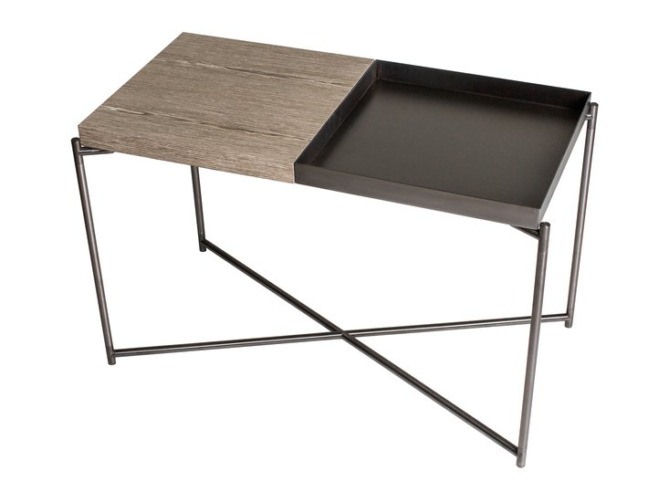 Iris rectangle top side table weathere   gun metal tray and frame gillmorespace limited treniq 1 1513169665280