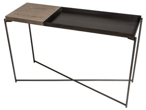 Iris-Large-Console-Table-With-Small-Weathered-Oak-Top,-Large-Gunmetal-Fram_Gillmore-Space-Limited_Treniq_0
