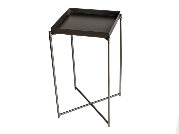 Iris square plant stand with gunmetal tray   frame gillmorespace limited treniq 1 1513170878452
