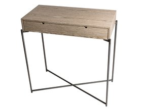 Iris-Small-Console-Table-With-Drawer-Top-In-Weathered-Oak-With-Gun-Metal-Frame_Gillmore-Space-Limited_Treniq_0