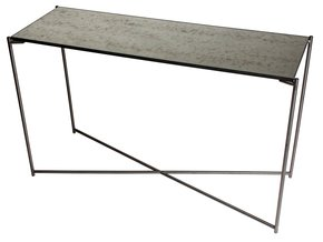 Iris-Large-Console-Table-Antiqued-Glass-With-Gun-Metal-Frame_Gillmore-Space-Limited_Treniq_0