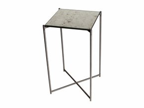 Iris-Square-Plant-Stand-Antiqued-Glass-With-Gun-Metal-Frame_Gillmore-Space-Limited_Treniq_0