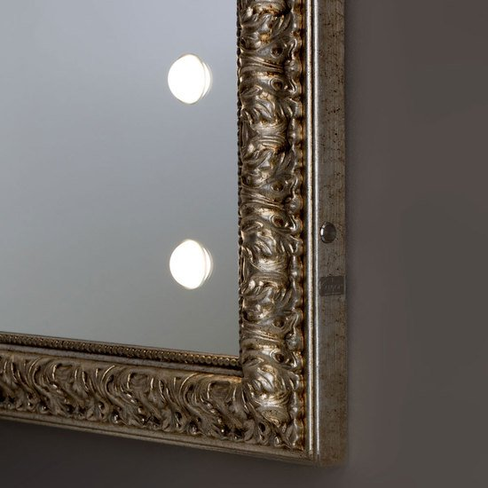 Lighted mirror mf193 gold leaf vintage chiara ferrari treniq 1 1513265491663