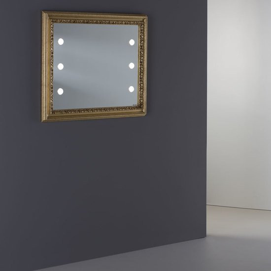 Lighted mirror mf110 p vintage gold* chiara ferrari treniq 1 1513267987721