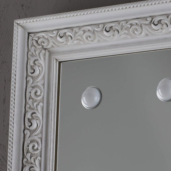 Lighted mirror mf388a white veneer grey* chiara ferrari treniq 1 1513268519359