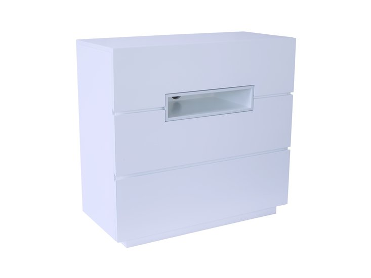Savoye white with white accent three drawer chest gillmorespace limited treniq 1 1513321901616