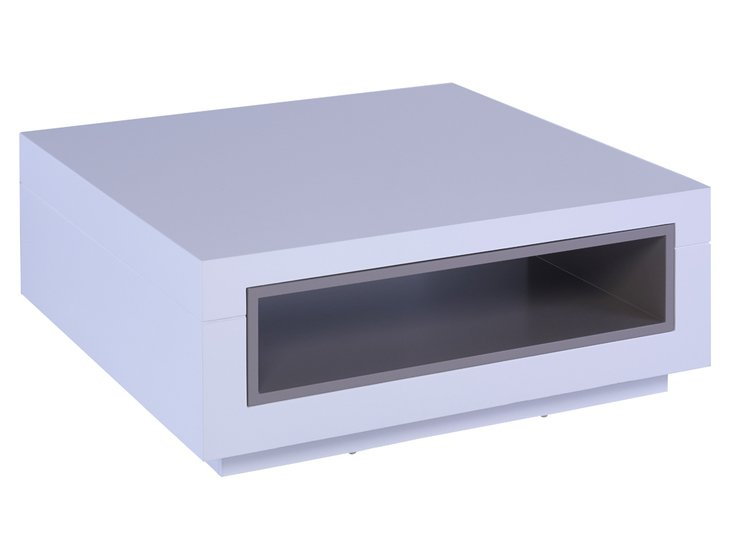 Savoye white with stone accent square coffee table gillmorespace limited treniq 1 1513322203998