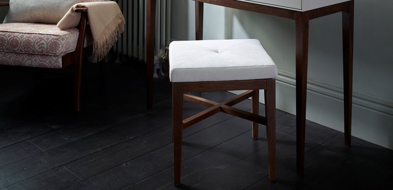 Lux upholstered stool gillmorespace limited treniq 1 1513325014969