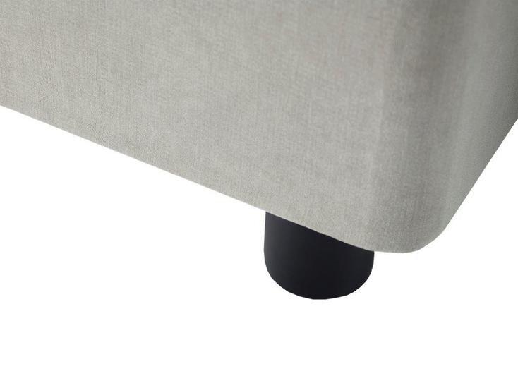 Essentials stone fabric single divan bed base gillmorespace limited treniq 1 1513333119044