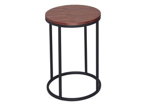 Kensal-Walnut-With-Black-Base-Circular-Side-Table_Gillmore-Space-Limited_Treniq_0