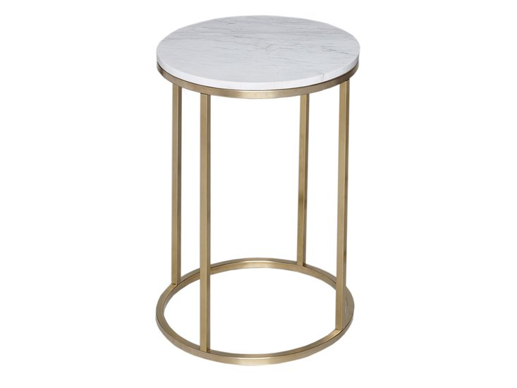 Kensal marble with brass base circular side table gillmorespace limited treniq 1 1513339469755