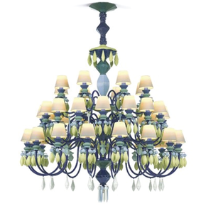 Belle-De-Nuit-Chandelier-40-Lights-Green_Lladro_Treniq_0