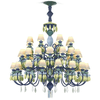 Belle de nuit chandelier 40 lights green lladro treniq 1 1513355985788