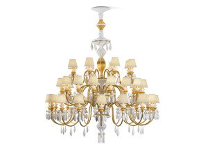 Belle-De-Nuit-Chandelier-40-Lights-Gold-24-Carrats_Lladro_Treniq_1
