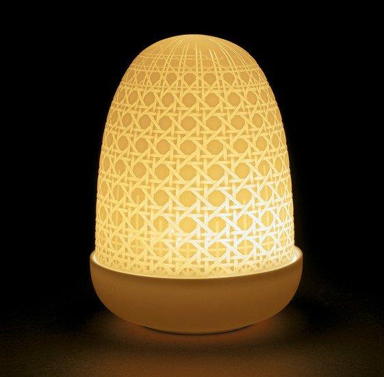 Wicker dome lamp  lladro treniq 1 1513361113942
