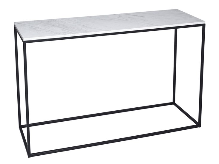 Kensal marble with black base console table gillmorespace limited treniq 1 1513591201614