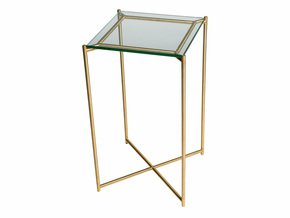 Iris-Square-Plant-Stand-Clear-Glass-With-Brass-Frame_Gillmore-Space-Limited_Treniq_0