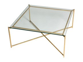 Iris-Square-Coffee-Table-Clear-Glass-With-Brass-Frame_Gillmore-Space-Limited_Treniq_0