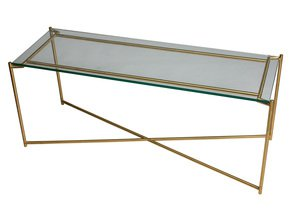 Iris-Large-Tv-Table-Clear-Glass-With-Brass-Frame_Gillmore-Space-Limited_Treniq_0